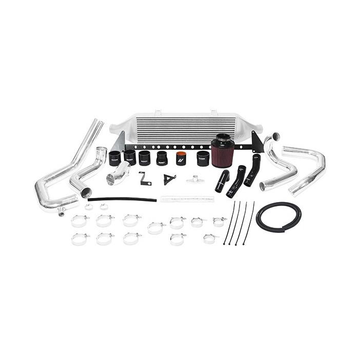 Kit intercooler frontal con admision para Subaru WRX STI 2008-2014 Plata