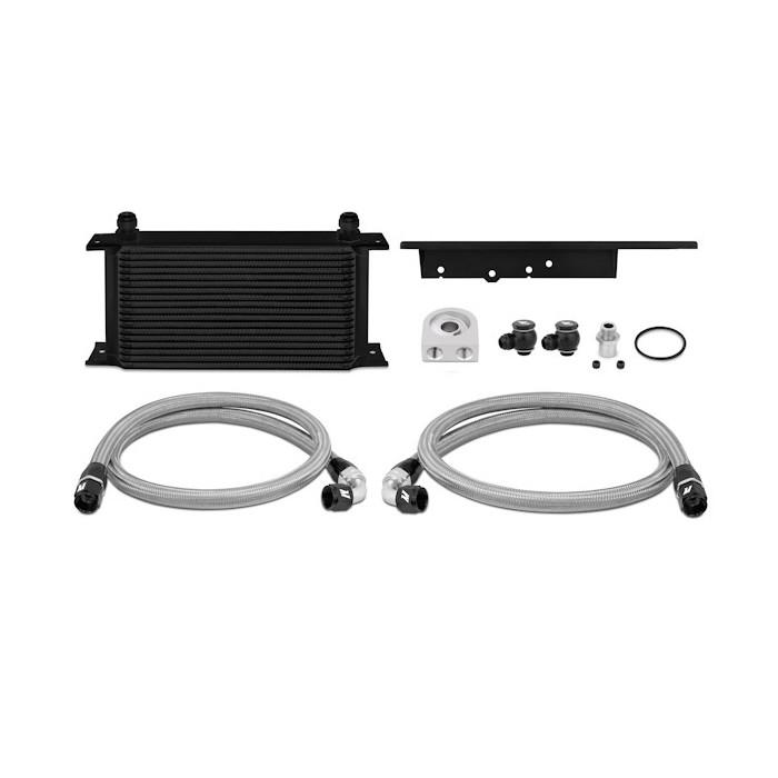 Kit radiador de aceite Nissan 350Z / 03-07 Infiniti G35 (Coupe solamente) 03-09 Negro