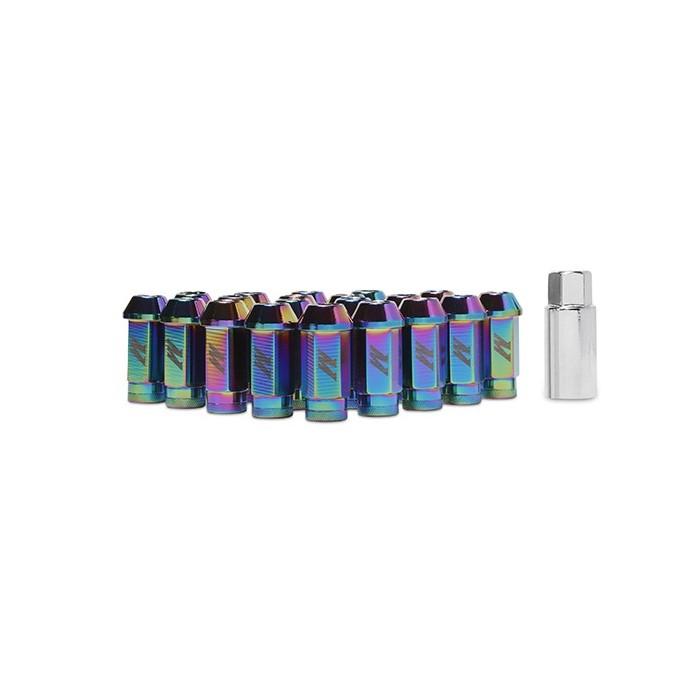 Tuercas aluminio para llantas, M12 x 1,25, Neo Chrome