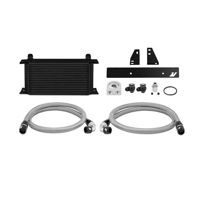 Kit radiador de aceite Nissan 370Z, 2009+ / G37, 2008+ (Coupe solamente) Negro